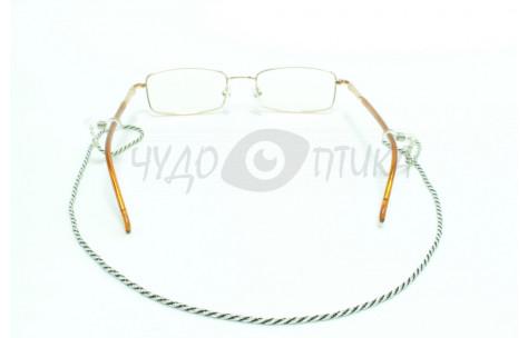 Шнур для очков (серебряный + черный)