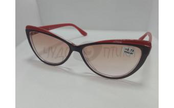 Солнцезащитные очки с диоптриями Ralph RA0406 черно-красные