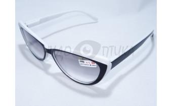 Солнцезащитные очки с диоптриями Восток 6633 белые