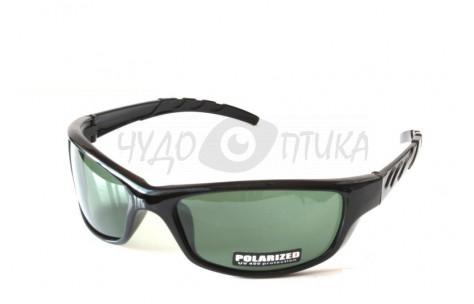 Спортивные очки Polarised Sport PL9018 C2, темно-зеленые