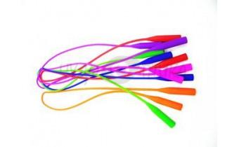 Шнур для очков силиконовый цветной 60см