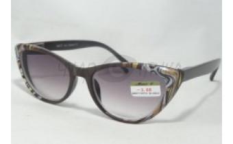 Солнцезащитные очки с диоптриями МОСТ 2078 (Т) коричн. ж