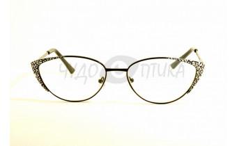 Очки для зрения Glodiatr G0799 C6 в черной оправе
