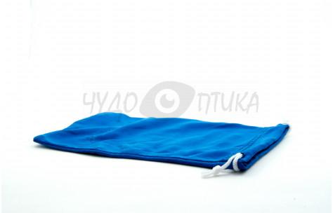 Футляр для с/з очков текстильный, синий