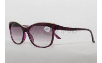 Солнцезащитные очки с диоптриями Fabia Monti 359 (Т) фиолетовые