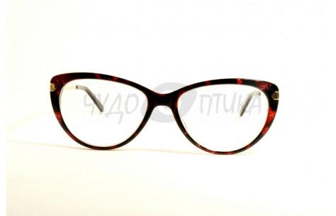 Очки для зрения вдаль Fabia Monti FM734 C322 в красной оправе