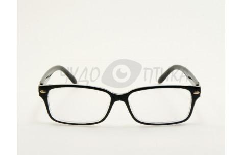 Имиджевые очки Aolise 5909B 806-464-5 в черной оправе
