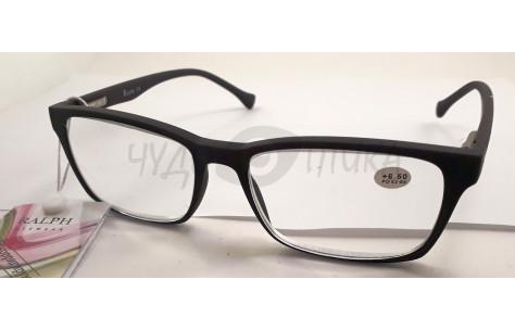 Очки для зрения  Ralph RA 0465 в коричневой каучуковой оправе/100303 by Ralph