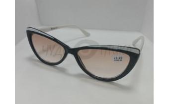 Солнцезащитные очки с диоптриями Ralph RA0406 черно-белые