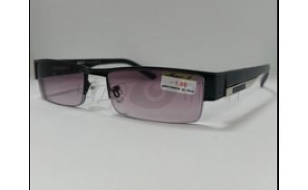 Солнцезащитные очки с диоптриями МОСТ 005 (Т) черные м