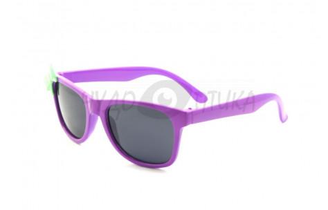 Солнцезащитные детские очки OLO polarized P377 в фиолетовой оправе