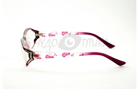 Очки для зрения вдаль Vizzini V8111 С3 в фиолетовой оправе