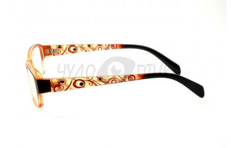 Очки для зрения вдаль Vizzini V8111 С2 в коричневой оправе