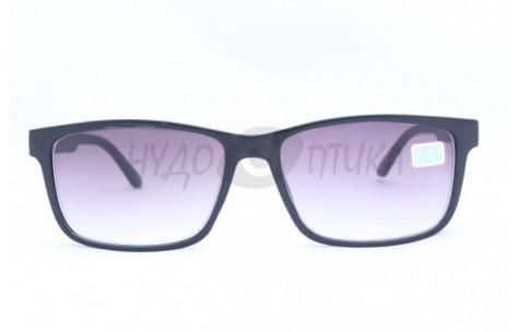 Солнцезащитные очки с диоптриями Восток 6642 (Т) черные/705091 by КИТАЙ