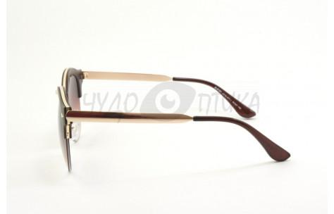 Солнцезащитные очки Alese AL9181 A212-477-1 в коричневой оправе