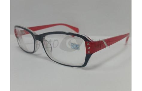 Очки для зрения МОСТ 2031 черно-красные/100319 by МОСТ
