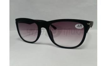 Солнцезащитные очки с диоптриями EAE 9034 (Т) черные м