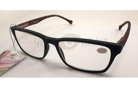 Очки для зрения  Ralph RA 0465 в черной  каучуковой оправе/100304 by Ralph