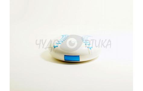 """Дорожный набор для контактных линз """"Бейсбольный мяч"""" Eyekan A-8060, синий"""