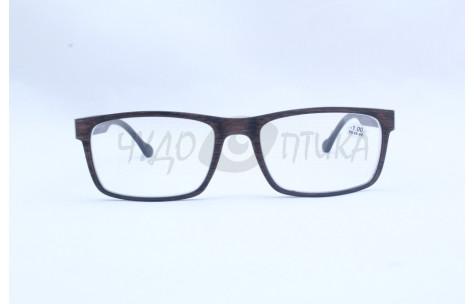 Очки для зрения  ВОСТОК 6619 (р.ц.66-68 )черные/100378 by ВОСТОК