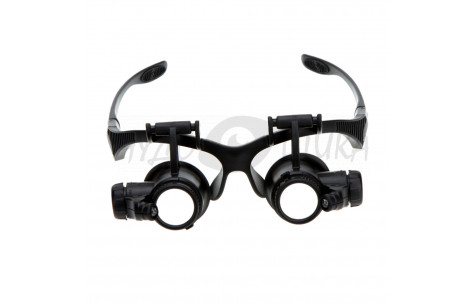 Бинокулярные очки-лупы