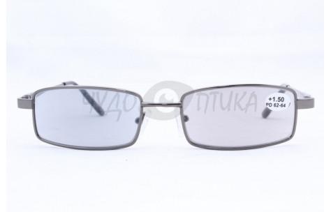 Очки для зрения вдаль Salyra 001 /8001 серые (стекло) фотохромные/100298_Д by Shengying