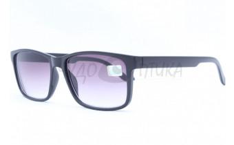 Солнцезащитные очки с диоптриями Восток 6642 (Т) черные