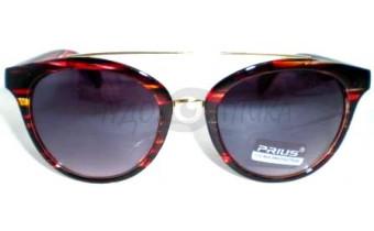 Солнцезащитные очки Prius 3709 C5 в коричневой оправе, женские