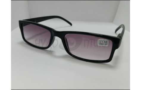 Солнцезащитные очки с диоптриями МОСТ 6008 (Т) черные м/705059 by Неизвестен