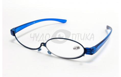 Очки для макияжа с диоптриями Chudooptika, синие