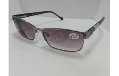 Солнцезащитные очки с диоптриями Glodiatr 0851 (Т) черные (у)/705076 by Glodiatr