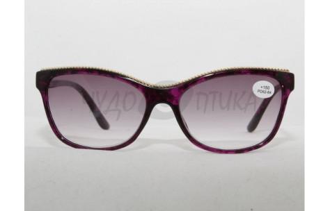 Солнцезащитные очки с диоптриями Fabia Monti 359 (Т) фиолетовые /705058 by КИТАЙ