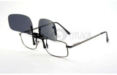 Поляризационные накладки-шторки на очки Polarized черные, размер S/200004-S by Polarized
