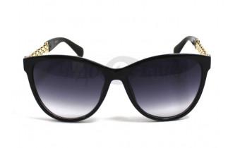 Солнцезащитные очки в черной оправе Aras 1788 c1, женские