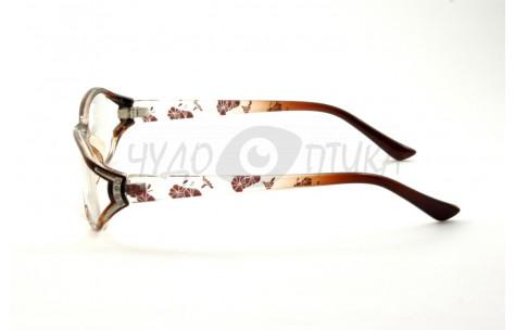 Очки для зрения EAE B554 С152 в коричневой оправе